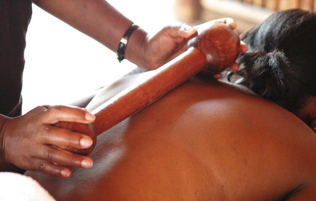 Rungu Bamboo Calabash & Poultice Massage